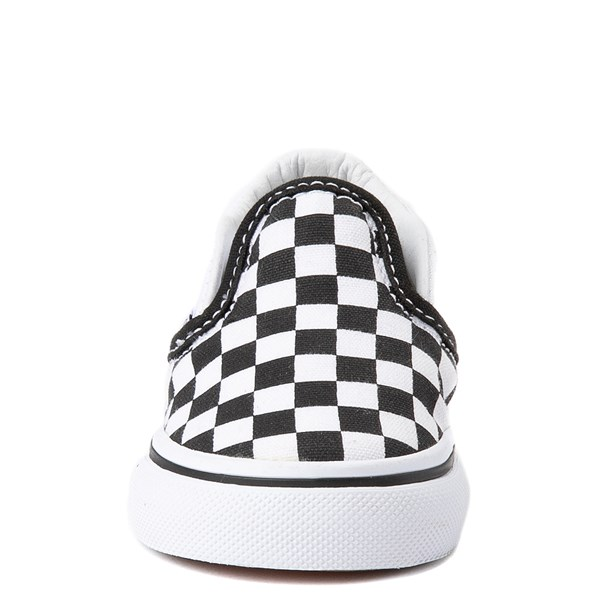 alternate image alternate view Vans Slip On Chex Skate Shoe - Baby / ToddlerALT4