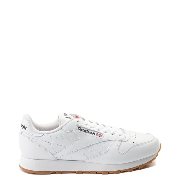 Main view of Mens Reebok Classic Athletic Shoe - White / Gum