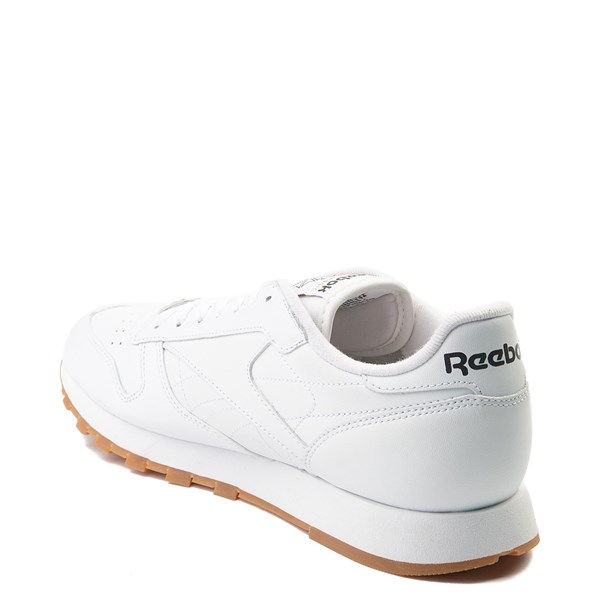 alternate image alternate view Mens Reebok Classic Athletic Shoe - White / GumALT2