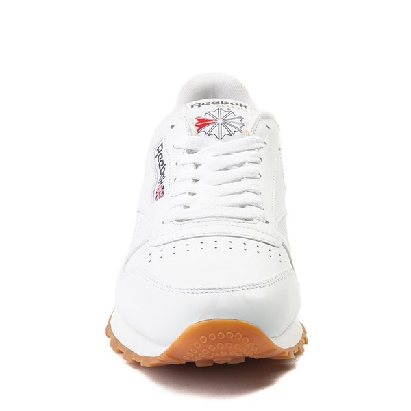 alternate image alternate view Mens Reebok Classic Athletic Shoe - White / GumALT4