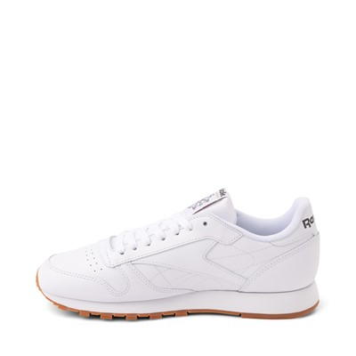 Alternate view of Mens Reebok Classic Athletic Shoe - White / Gum