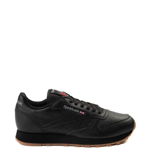 Main view of Mens Reebok Classic Athletic Shoe - Black / Gum