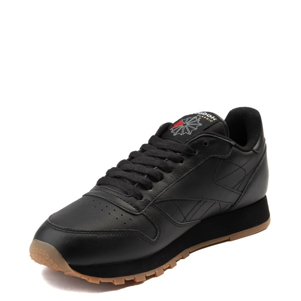 alternate image alternate view Mens Reebok Classic Athletic Shoe - Black / GumALT3
