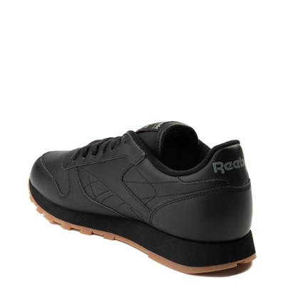 Alternate view of Mens Reebok Classic Athletic Shoe - Black / Gum