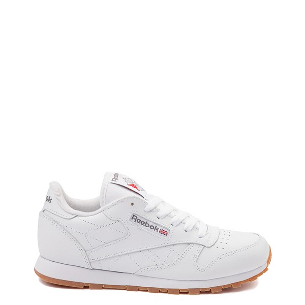 Main view of Womens Reebok Classic Athletic Shoe - White / Gum