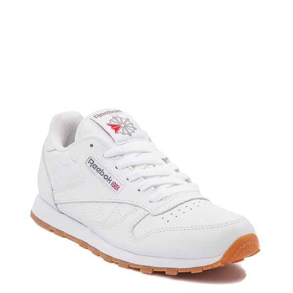 alternate image alternate view Womens Reebok Classic Athletic Shoe - White / GumALT1