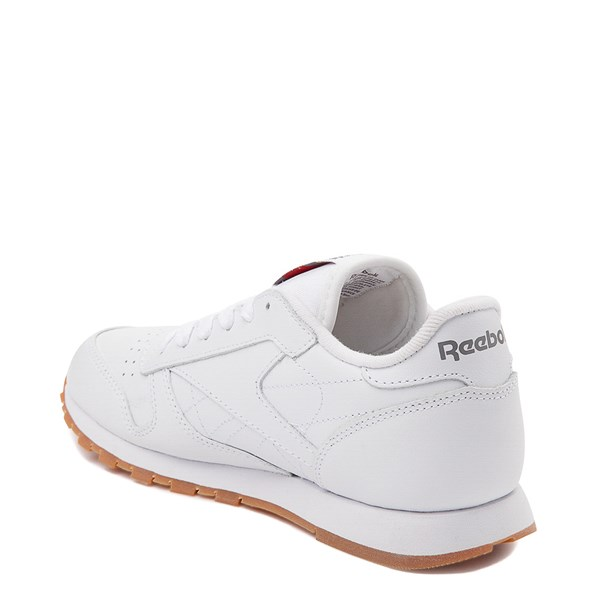 alternate image alternate view Womens Reebok Classic Athletic Shoe - White / GumALT2