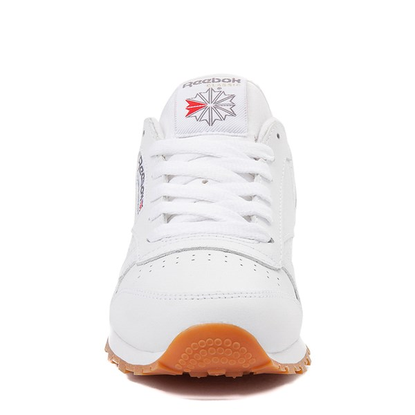 alternate image alternate view Womens Reebok Classic Athletic Shoe - White / GumALT4