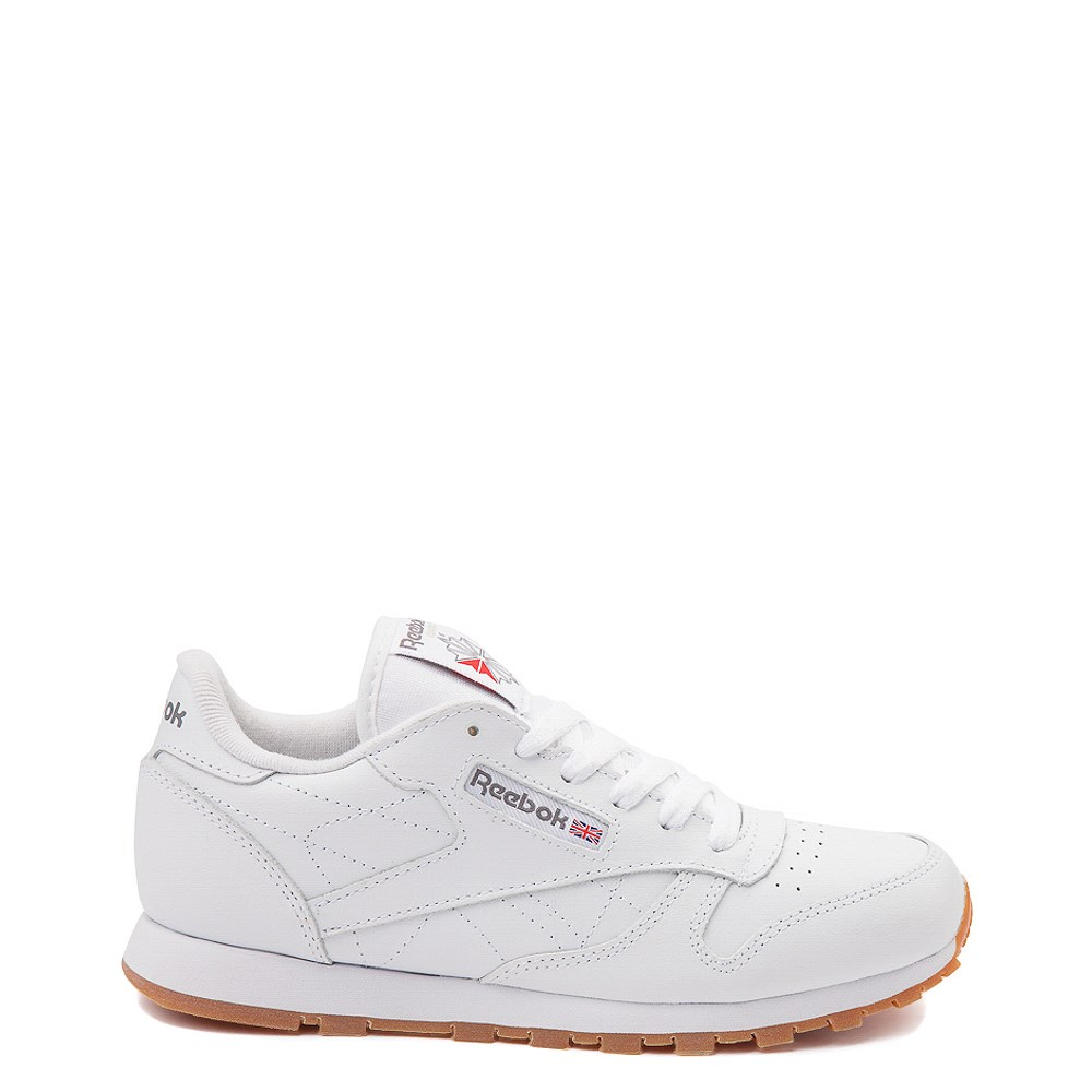 Womens Reebok Classic Athletic Shoe - White / Gum
