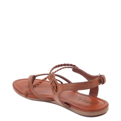 Alternate view of Womens MIA Adrianna Sandal - Cognac