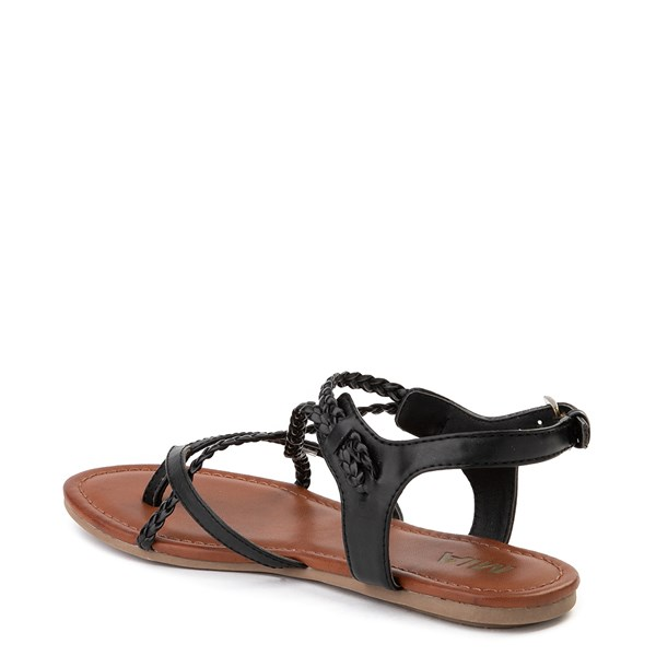 alternate image alternate view Womens MIA Adrianna Sandal - BlackALT2