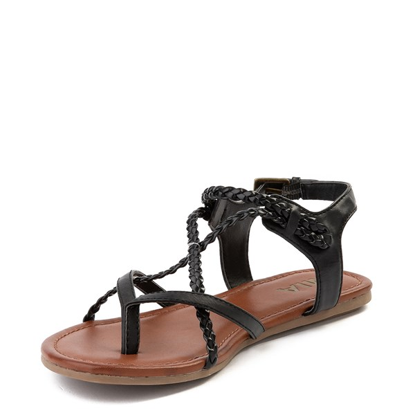 alternate image alternate view Womens MIA Adrianna Sandal - BlackALT3