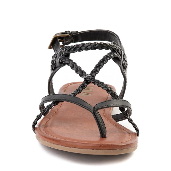 alternate image alternate view Womens MIA Adrianna Sandal - BlackALT4