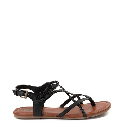 Main view of Womens MIA Adrianna Sandal - Black