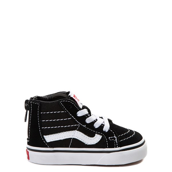 Vans Sk8 Hi Skate Shoe - Baby / Toddler - Black / White