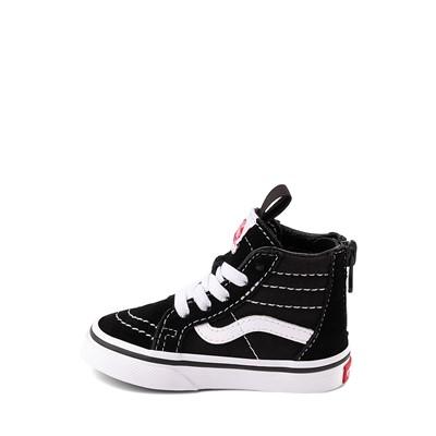 Alternate view of Vans Sk8 Hi Skate Shoe - Baby / Toddler - Black / White