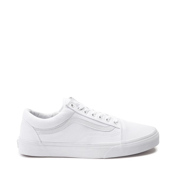 Main view of Vans Old Skool Skate Shoe - White