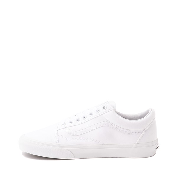 alternate image alternate view Vans Old Skool Skate Shoe - WhiteALT1