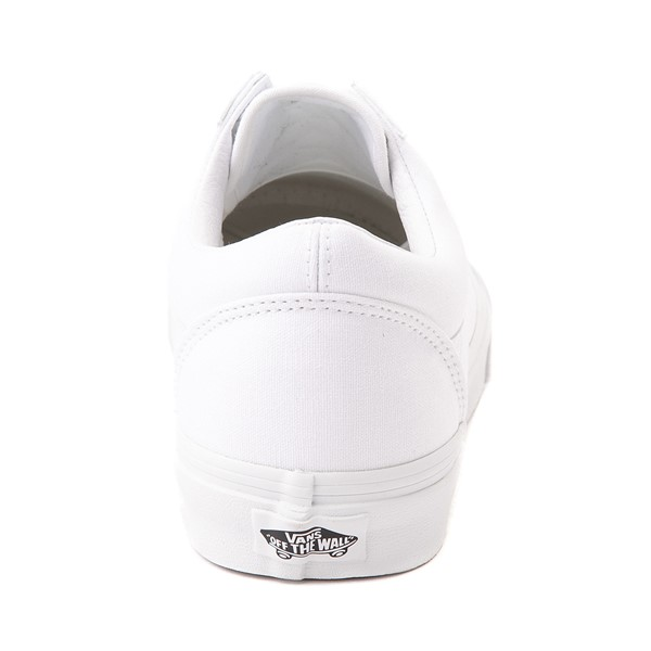 alternate image alternate view Vans Old Skool Skate Shoe - WhiteALT4
