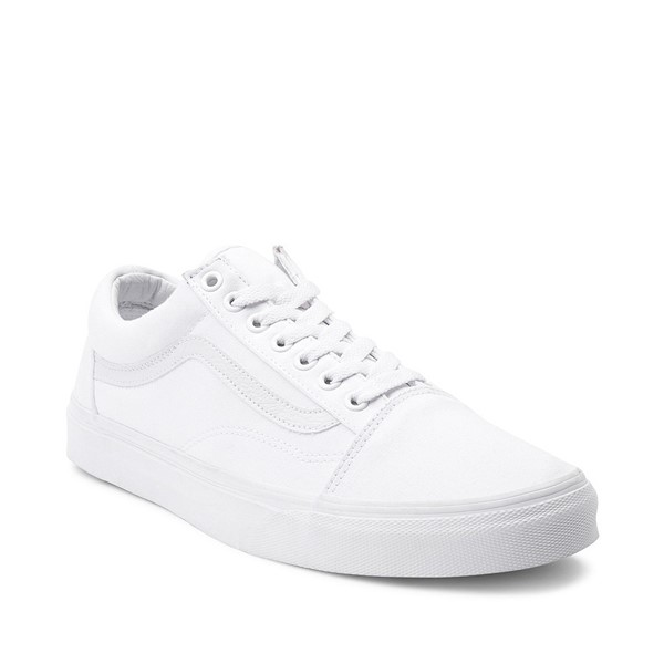 alternate image alternate view Vans Old Skool Skate Shoe - WhiteALT5