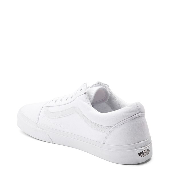 alternate image alternate view Vans Old Skool Skate Shoe - WhiteALT2