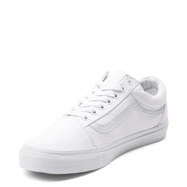 alternate image alternate view Vans Old Skool Skate Shoe - WhiteALT3