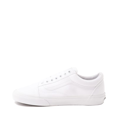 Alternate view of Vans Old Skool Skate Shoe - White