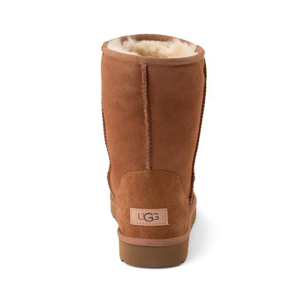 alternate image alternate view Womens UGG® Classic Short II Boot - ChestnutALT4
