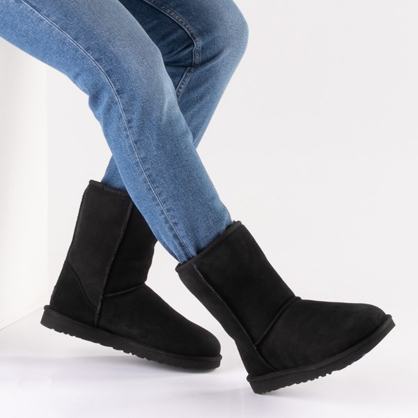 alternate image alternate view Womens UGG® Classic Short II BootB-LIFESTYLE1