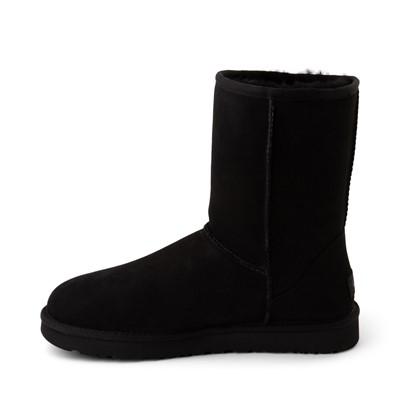 Alternate view of Womens UGG® Classic Short II Boot - Black