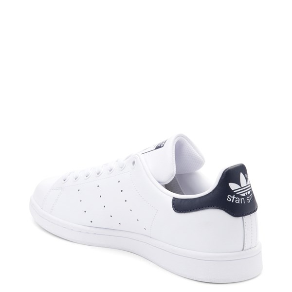alternate image alternate view Mens adidas Stan Smith Athletic Shoe - White / NavyALT2