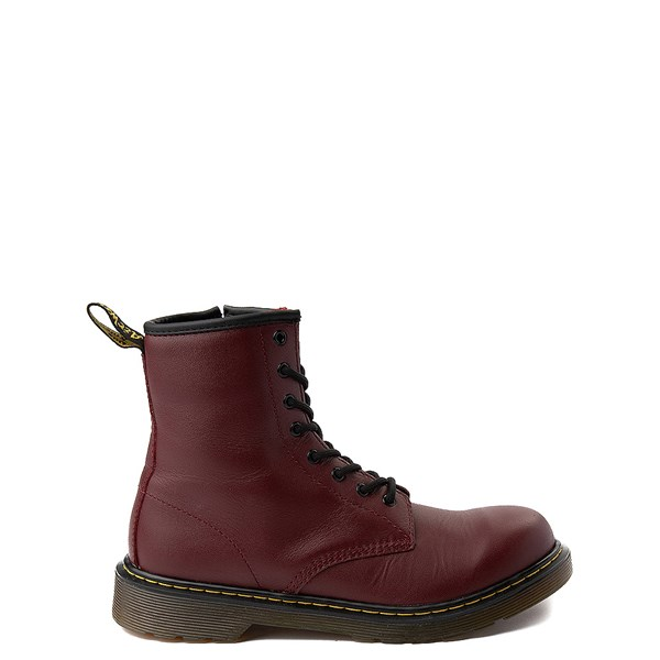 Dr. Martens 8-Eye Delaney Boot - Big Kid - Cherry