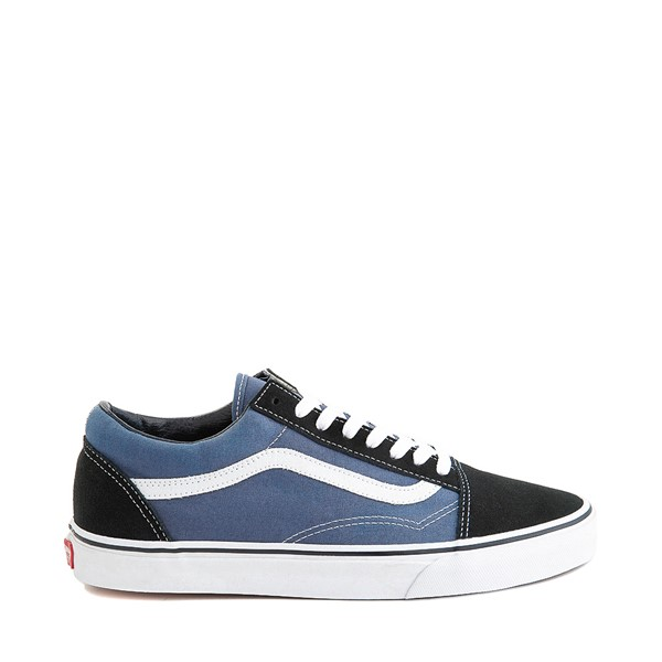 Main view of Vans Old Skool Skate Shoe - Navy / White