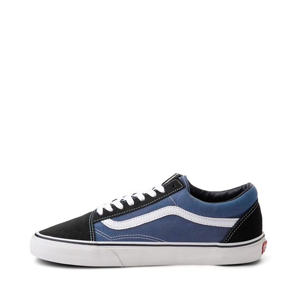 alternate image alternate view Vans Old Skool Skate Shoe - Navy / WhiteALT1