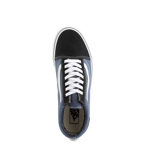 alternate image alternate view Vans Old Skool Skate Shoe - Navy / WhiteALT4B