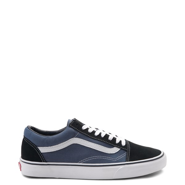 Vans Old Skool Skate Shoe - Navy / White