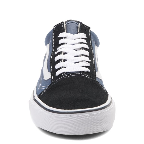 alternate image alternate view Vans Old Skool Skate Shoe - Navy / WhiteALT4