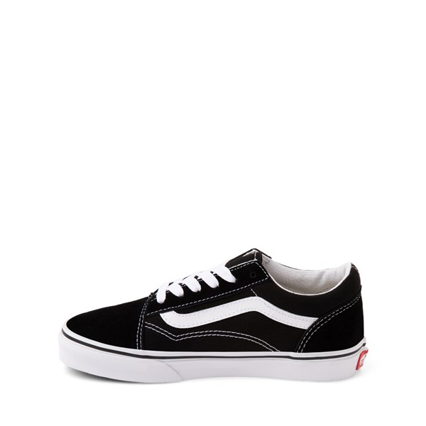 alternate image alternate view Vans Old Skool Skate Shoe - Little Kid / Big Kid - Black / WhiteALT1