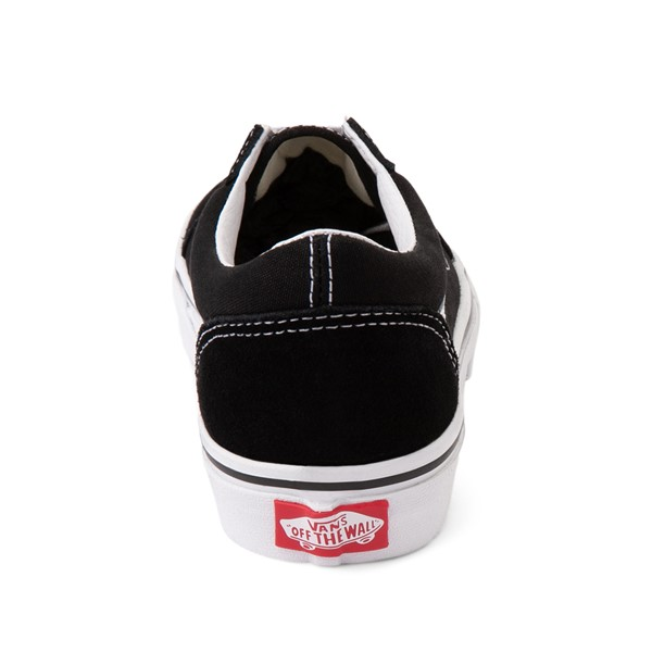 alternate image alternate view Vans Old Skool Skate Shoe - Little Kid / Big Kid - Black / WhiteALT4