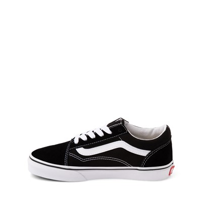 Alternate view of Vans Old Skool Skate Shoe - Little Kid / Big Kid - Black / White