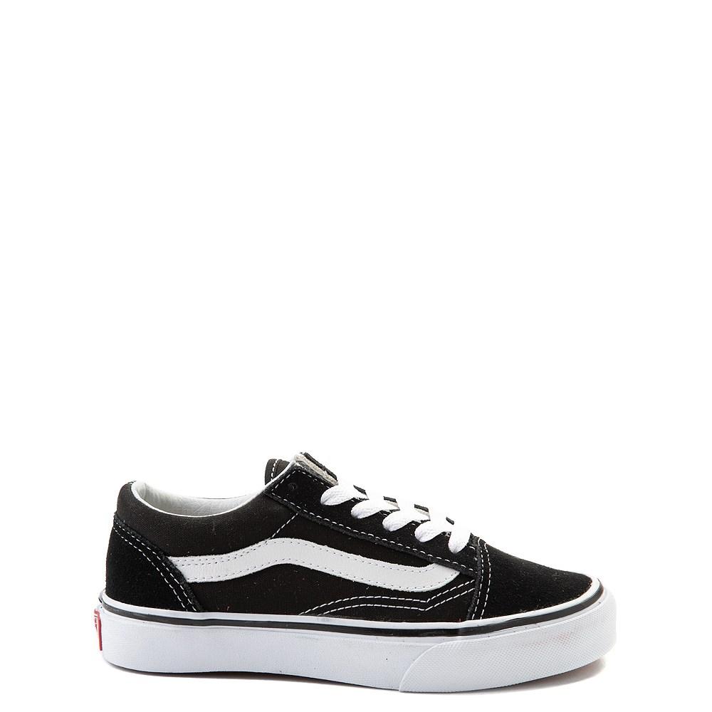 Vans Old Skool Skate Shoe - Little Kid / Big Kid - Black / White