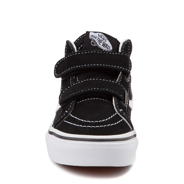 alternate image alternate view Vans Sk8 Hi Skate Shoe - Little Kid / Big Kid - Black / WhiteALT4