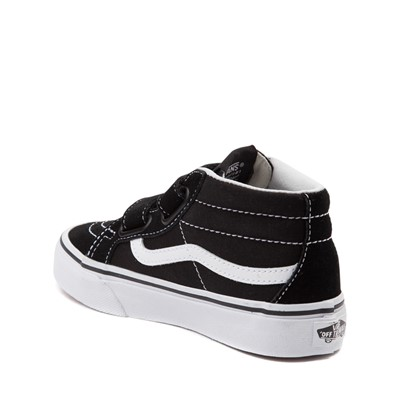 Alternate view of Vans Sk8 Hi Skate Shoe - Little Kid / Big Kid - Black / White
