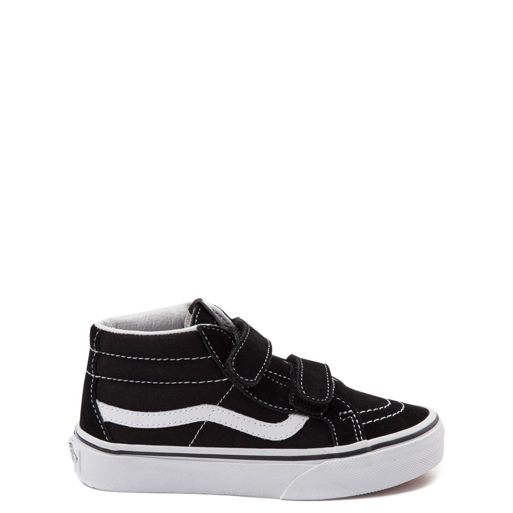 Vans Sk8 Hi Skate Shoe - Little Kid / Big Kid - Black / White
