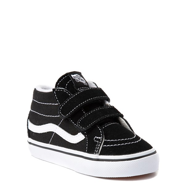 alternate image alternate view Vans Sk8 Mid V Skate Shoe - Baby / ToddlerALT1