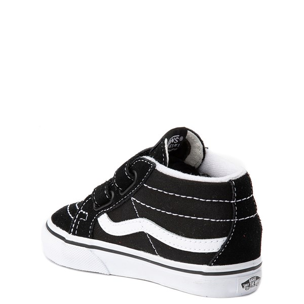 alternate image alternate view Vans Sk8 Mid V Skate Shoe - Baby / ToddlerALT2
