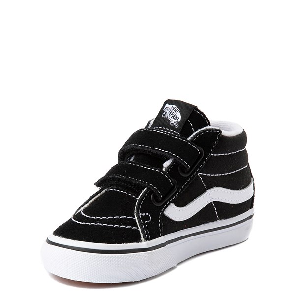 alternate image alternate view Vans Sk8 Mid V Skate Shoe - Baby / ToddlerALT3
