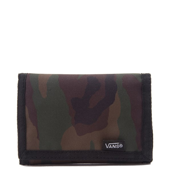 Main view of Vans Camo Trifold Wallet - Green