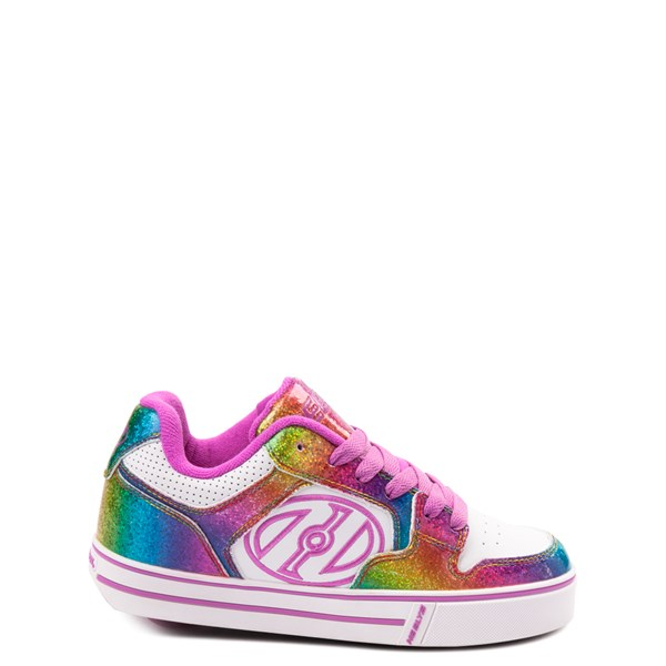 Heelys Motion Rainbow Skate Shoe - Little Kid / Big Kid - White / Rainbow
