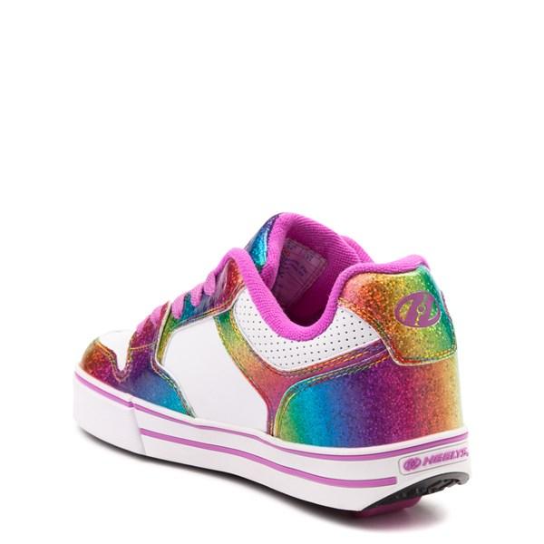 alternate image alternate view Heelys Motion Rainbow Skate Shoe - Little Kid / Big Kid - White / RainbowALT2